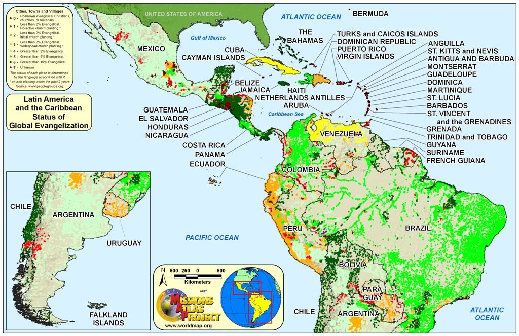 World map latin america and caribbean the gumiabroncs Images